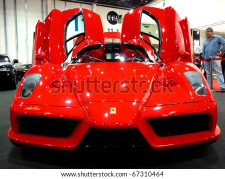 abu dhabi uae december 10ferrari enzo on display during abu dhabi int - Ferrari Enzo 2010