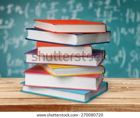 Academic, background, book. - stock photo