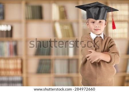 Academic, blackboard, board. - stock photo