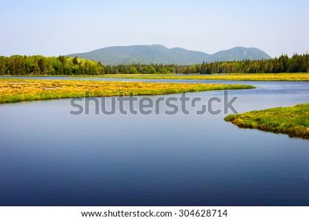 Acadia National Park - stock photo
