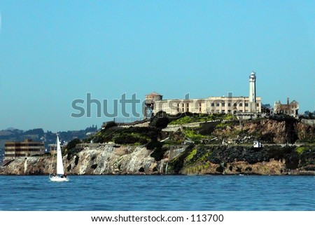 Acaltraz Island, San Francisco Bay, Calif