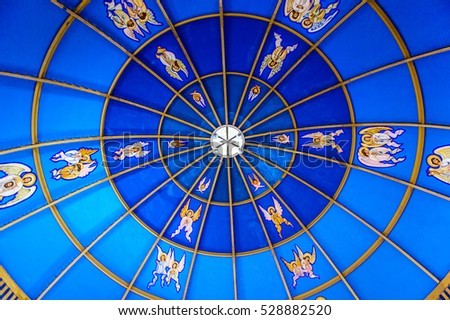 ACAPULCO, MEXICO - OCT 30, 2016: Chapel of the Archdiocese of Acapulco, a Roman Catholic Archdicese, Guerrero, Mexico. It was established on the 18 March 1958