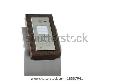 access code pad - stock photo