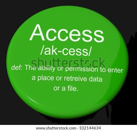 define accessibility