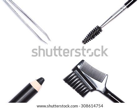 how to clean eyebrows with tweezers