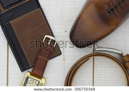 Accessories for men - stock photo
