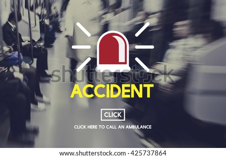 Accident Hospital Danger Life Concept - stock photo