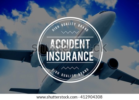 Accident Insurance Claim Policy Concept - stock photo