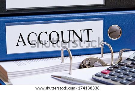 Account - stock photo