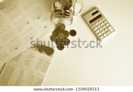 accountant verify plan payment monthly expense stock photo edit now