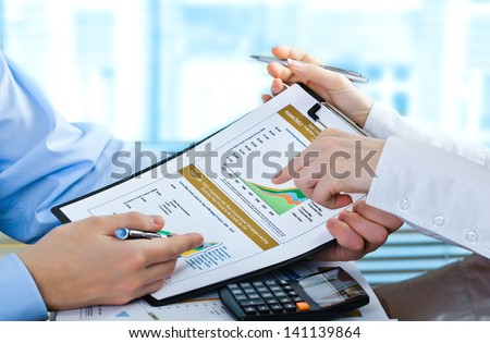 Accounting. - stock photo