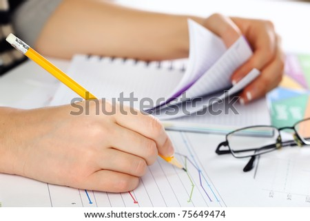 Accounting. - stock photo