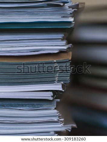 Accounting and taxes - stock photo