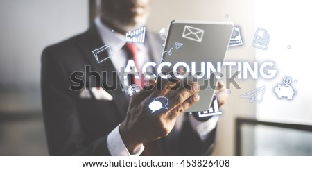 Accounting Financial Economy Capital Management Concept - stock photo