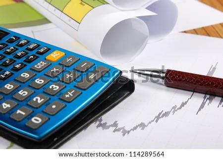 Accounting job - stock photo