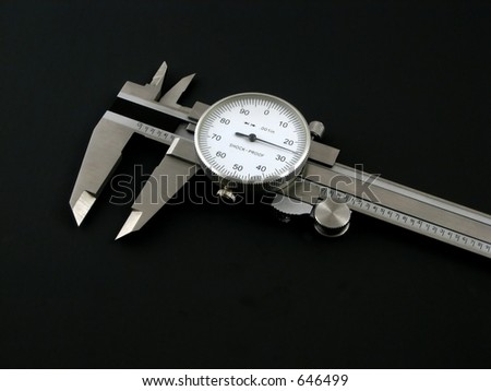 accuray measures - stock photo