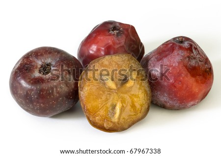 Acerola small fruit with high quantity C Vitamin. Clipping path included.