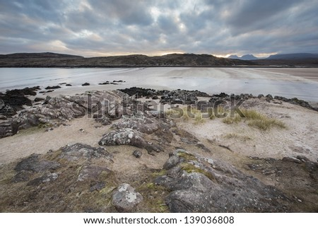 Achnahaird beach in the Coigach,Achiltibuie,Scotland