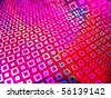 Acid magenta abstract rave cultured club neon background - stock photo