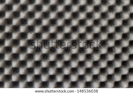 Acoustic foam  - stock photo