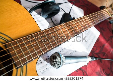 white electric guitar isolated on white stock photo 555017074 shutterstock. Black Bedroom Furniture Sets. Home Design Ideas