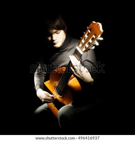 spanish guitar stock images royalty free images vectors shutterstock. Black Bedroom Furniture Sets. Home Design Ideas