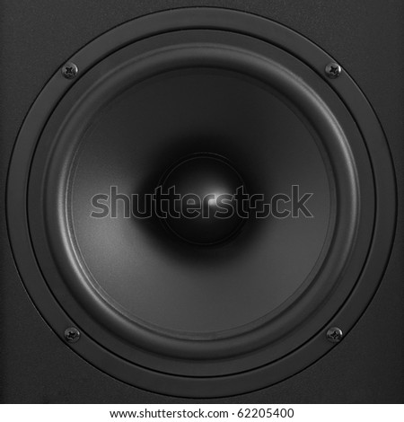 acoustic woofer - stock photo