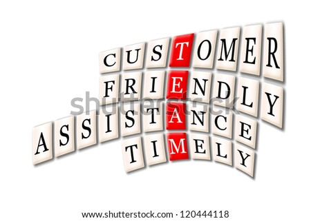 Acronym of Team - customer friendlyservice,timely