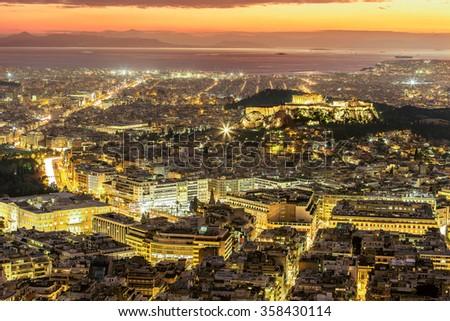 Acropolis,Greece - stock photo
