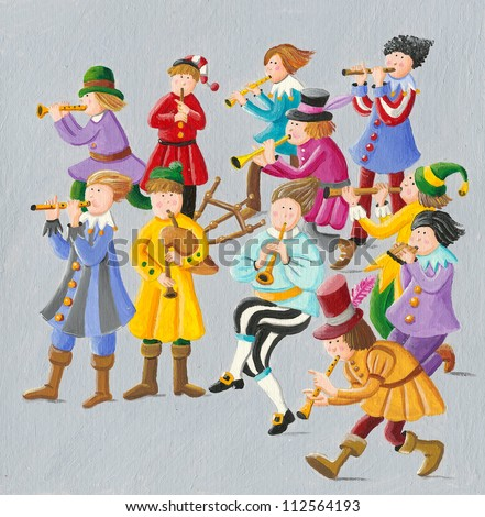 11 pipers piping images pipers piping stock images royalty free images vectors 607