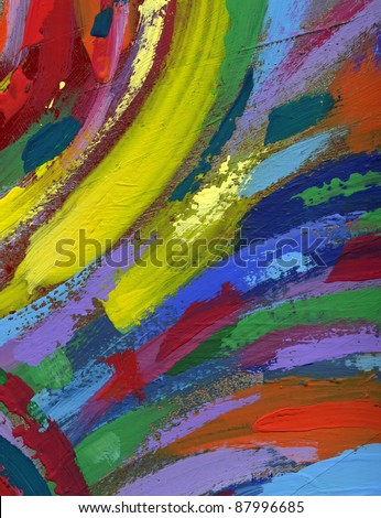 acrylic painting abstract texture background