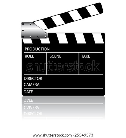 Action clapperboard