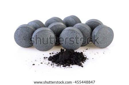 activated coal tablets