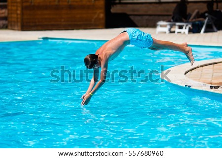 Pool Jump Stock Images Royalty Free Images Vectors Shutterstock