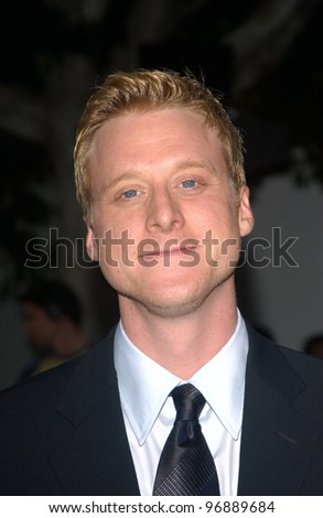 Actor ALAN TUDYK at the world premiere, in Los Angeles, of his new movie I, Robot. July 7, 2004
