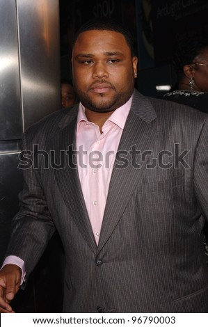 Actor ANTHONY ANDERSON at the Los Angeles premiere of his new movie King's Ransom. April 21, 2005 Los Angeles, CA.  2005 Paul Smith / Featureflash