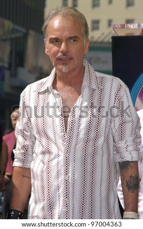 Actor BILLY BOB THORNTON at ceremony on Hollywood Boulevard where he was honored with the 2,265th star on the Hollywood Walk of Fame. October 7, 2004