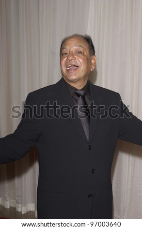 Actor CHEECH MARIN at Noche de Ninos event at the Beverly Hills Hilton to benefit Childrens Hospital Los Angeles. October 2, 2004