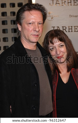 Actor CHRIS COOPER & wife MARIANNE at the world premiere, in Hollywood, of his new movie Jarhead. October 27, 2005  Los Angeles, CA.  2005 Paul Smith / Featureflash