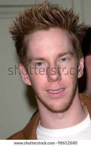 Actor CHRIS OWEN at the world premiere of Get Over It, in Los Angeles. 08MAR2001.    Paul Smith/Featureflash