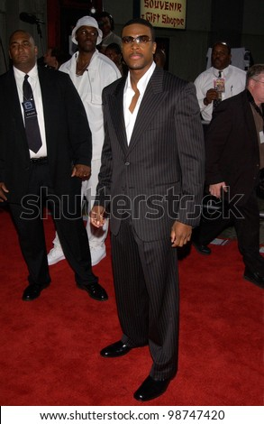 Actor CHRIS TUCKER at the world premiere, at the Mann's Chinese Theatre, Hollywood, of his new movie Rush Hour 2. 26JUL2001   Paul Smith/Featureflash