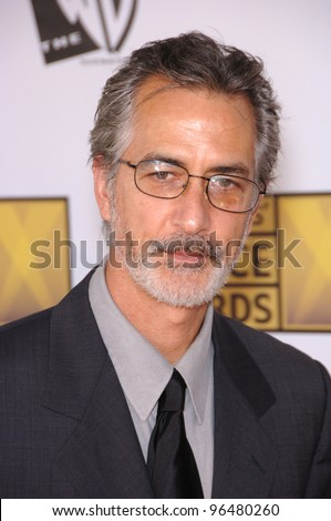 Actor DAVID STRATHAIRN at the 11th Annual Critics' Choice Awards in Santa Monica, presented by the Broadcast Film Critics Association. January 9, 2006  Santa Monica, CA  2006 Paul Smith / Featureflash - stock photo