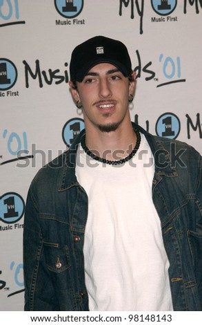 Actor ERIC BALFOUR at the My VH1 Music Awards in Los Angeles. 02DEC2001.   Paul Smith/Featureflash
