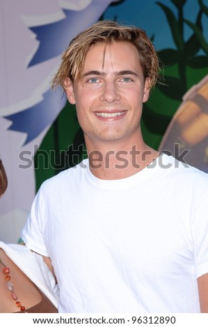 Actor ERIK VON DETTEN at the world premiere of Walt Disney's Chicken Little at the El Capitan Theatre, Hollywood. October 30, 2005 Los Angeles, CA  2005 Paul Smith / Featureflash - stock photo