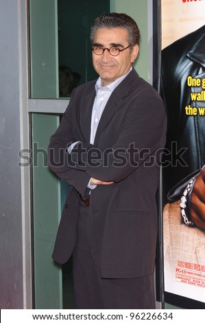 Actor EUGENE LEVY at the Los Angeles premiere of his new movie The Man. September 6, 2005  Los Angeles, CA.  2005 Paul Smith / Featureflash