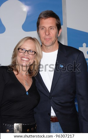 "Actor GARY COLE & wife at ""One Night Only: A Concert for Autism Speaks"" Gala at the Kodak Theatre, Hollywood. September 24, 2005  Los Angeles, CA.  2005 Paul Smith / Featureflash"