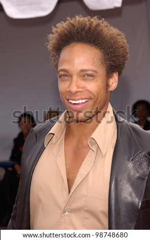 Actor GARY DOURDAN at the 7th Annual Soul Train Lady of Soul Awards in Santa Monica, California.  28AUG2001.   Paul Smith/Featureflash - stock photo