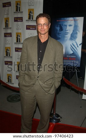 Actor GARY SINISE at the Hollywood premiere of his new movie The Human Stain. Oct 21, 2003  Paul Smith / Featureflash