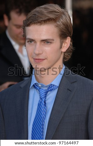 Actor HAYDEN CHRISTENSEN at the 58th Annual Film Festival de Cannes to promote his new movie Decameron: Angels and Virgins. May 14, 2005 Cannes, France.  2005 Paul Smith / Featureflash