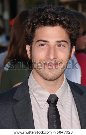"Actor JAKE HOFFMAN at the Los Angeles premiere of his new movie ""Click"". June 14, 2006  Los Angeles, CA  2006 Paul Smith / Featureflash"